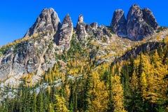 Βουνά κουδουνιών ελευθερίας, πολιτεία της Washington στοκ φωτογραφίες