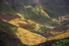 Βουνά Λα Gomera Στοκ Εικόνες