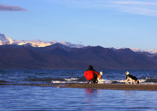 βουνά λιμνών Στοκ εικόνα με δικαίωμα ελεύθερης χρήσης