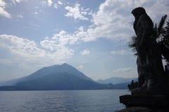 Βουνά λιμνών Como στοκ εικόνες