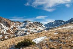Βουνά με το χιόνι - Πυρηναία Στοκ Φωτογραφία