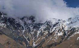 βουνά μοναστηριών kakheti Καύκασου Γεωργία alaverdi Στοκ Φωτογραφίες