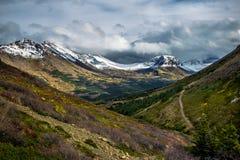 Βουνά μπροστινής σειράς Chugach Στοκ φωτογραφίες με δικαίωμα ελεύθερης χρήσης