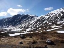 βουνά Νορβηγία χιονώδης Στοκ εικόνες με δικαίωμα ελεύθερης χρήσης