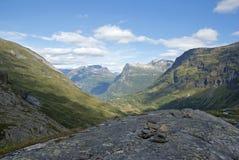 βουνά Νορβηγία Στοκ Φωτογραφία