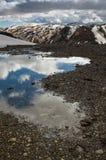 Βουνά ουράνιων τόξων, Ισλανδία Στοκ Φωτογραφία