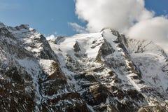 Βουνά παγετώνων του Franz Josef Kaiser Grossglockner, αυστριακές Άλπεις Στοκ φωτογραφίες με δικαίωμα ελεύθερης χρήσης