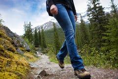 βουνά πεζοπορώ λεπτομέρ&epsilo Στοκ φωτογραφίες με δικαίωμα ελεύθερης χρήσης