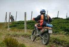 βουνά ποδηλατών στοκ εικόνα με δικαίωμα ελεύθερης χρήσης