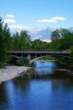 Βουνά ποταμών και Beaverhead σολομών Στοκ φωτογραφία με δικαίωμα ελεύθερης χρήσης