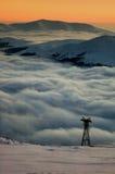 βουνά ρουμάνικα Στοκ Φωτογραφίες