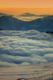 βουνά ρουμάνικα Στοκ Εικόνα