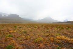 Βουνά σε μια ομίχλη Στοκ εικόνες με δικαίωμα ελεύθερης χρήσης