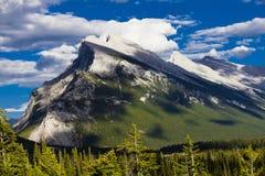 Βουνά σε Banff Στοκ Εικόνες