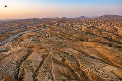Βουνά σε Cappadocia στοκ φωτογραφία με δικαίωμα ελεύθερης χρήσης
