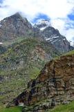 Βουνά σε Ladakh, Ινδία Στοκ Φωτογραφίες