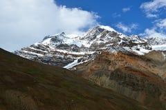 Βουνά σε Ladakh, Ινδία Στοκ Εικόνες