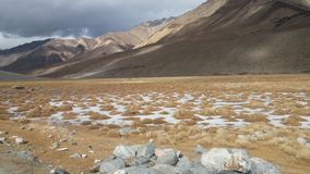Βουνά σε Ladakh Στοκ Εικόνες