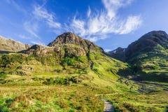 βουνά Σκωτία Στοκ εικόνες με δικαίωμα ελεύθερης χρήσης