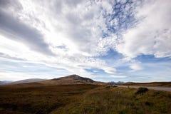 βουνά σκωτσέζικα πεδίων Στοκ Φωτογραφίες