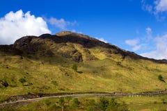 βουνά σκωτσέζικα Στοκ εικόνα με δικαίωμα ελεύθερης χρήσης