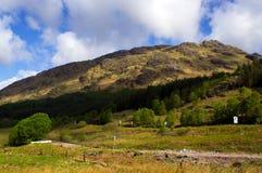 βουνά σκωτσέζικα Στοκ φωτογραφίες με δικαίωμα ελεύθερης χρήσης