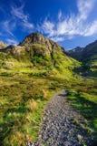 βουνά σκωτσέζικα Στοκ φωτογραφία με δικαίωμα ελεύθερης χρήσης