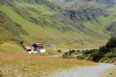 βουνά σπιτιών της Αυστρία&sigma Στοκ εικόνα με δικαίωμα ελεύθερης χρήσης