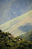 βουνά σπιτιών στοκ φωτογραφία