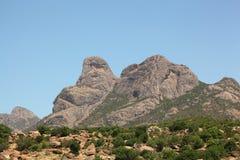 Βουνά στην Αιθιοπία Στοκ Εικόνες