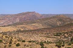 Βουνά στην Αιθιοπία Στοκ φωτογραφία με δικαίωμα ελεύθερης χρήσης