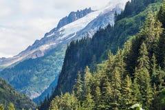 Βουνά στην Αλάσκα στοκ εικόνα