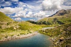Βουνά στην Ιταλία Στοκ Εικόνα