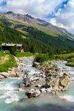 Βουνά στην Ιταλία Στοκ φωτογραφία με δικαίωμα ελεύθερης χρήσης