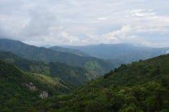 Βουνά στην Κολομβία Στοκ Εικόνες