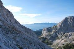 Βουνά στη Σλοβενία Στοκ Φωτογραφίες