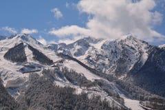 Βουνά στον ήλιο Στοκ φωτογραφία με δικαίωμα ελεύθερης χρήσης