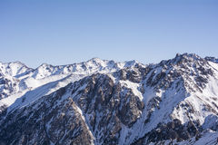 Βουνά στο Αλμάτι Στοκ Φωτογραφίες