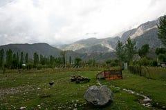 Βουνά στο Κιργιστάν Στοκ φωτογραφίες με δικαίωμα ελεύθερης χρήσης