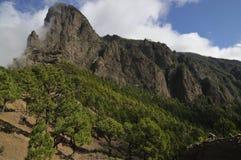 Βουνά στο Λα Palma, Κανάρια νησιά Στοκ Εικόνες