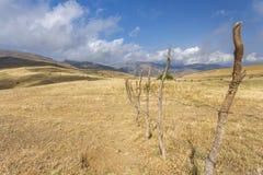 Βουνά στο νότιο Αζερμπαϊτζάν Στοκ εικόνα με δικαίωμα ελεύθερης χρήσης