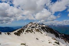 Βουνά στο Sochi στοκ φωτογραφία