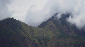 βουνά σύννεφων Μπαλί, Ινδονησία Στοκ Εικόνα