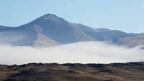 βουνά σύννεφων απόθεμα βίντεο