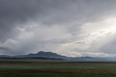 βουνά σύννεφων στοκ εικόνες