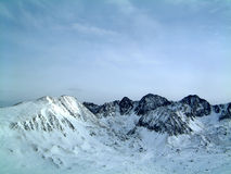βουνά της Ανδόρρας Στοκ εικόνα με δικαίωμα ελεύθερης χρήσης