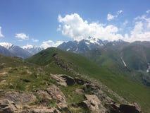 Βουνά της Ασίας χώρας Στοκ φωτογραφία με δικαίωμα ελεύθερης χρήσης
