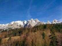 βουνά της Αυστρίας Στοκ Φωτογραφίες