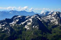 Βουνά της Αυστρίας Στοκ Εικόνες