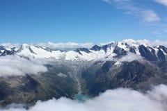 βουνά της Αυστρίας hintertux Στοκ εικόνες με δικαίωμα ελεύθερης χρήσης